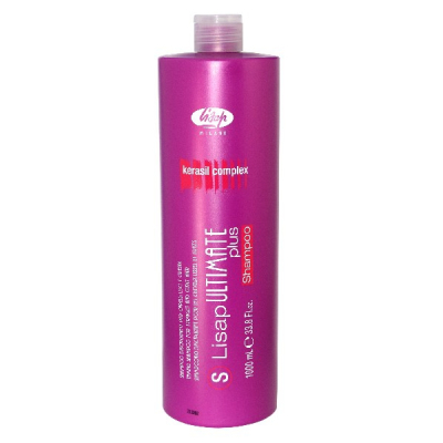выпрямление волос lisap ultimate ultimate plus shampoo 1000 мл.
