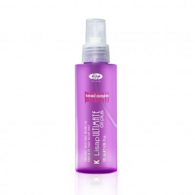 выпрямление волос lisap ultimate ultimate keratin oil plus 120 мл.
